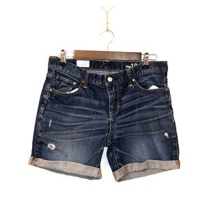 Gap sexy boyfriend jean short 4 Tall